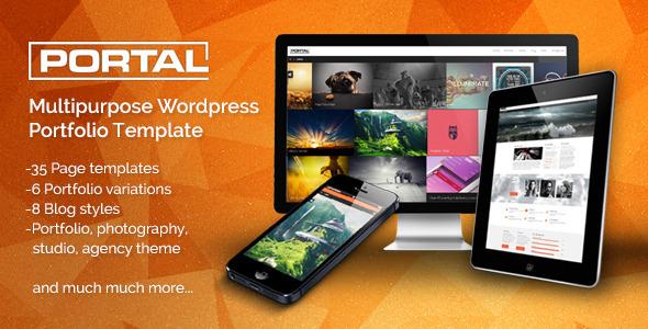 Portal Template Responsive Portfolio Theme