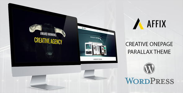 Affix OnePage WordPress Portfolio Theme