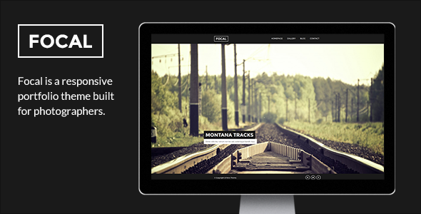 Focal A Photography WordPress Portfolio Theme