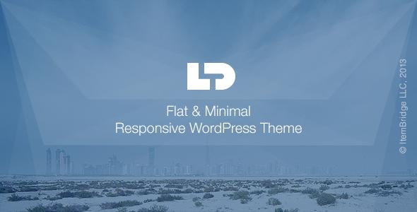 LightDose FlatMinimal Responsive Portfolio Theme
