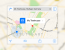 Free PSD iOS 7 Maps Template | iphone | app