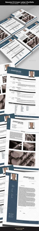 resume cv v2 PSD template