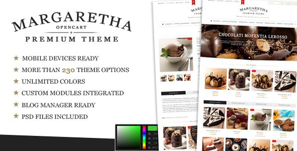 Margaretha Opencart Premium Theme