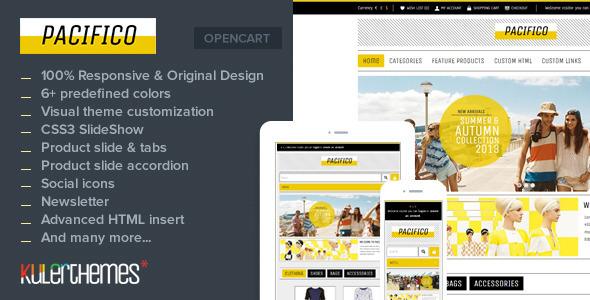 Pacifico A Subtle Responsive Opencart Theme