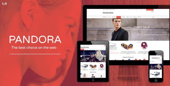 Pandora Responsive Opencart Theme