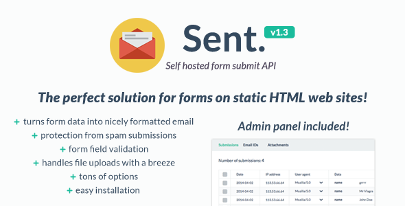 Self hosted form submit API