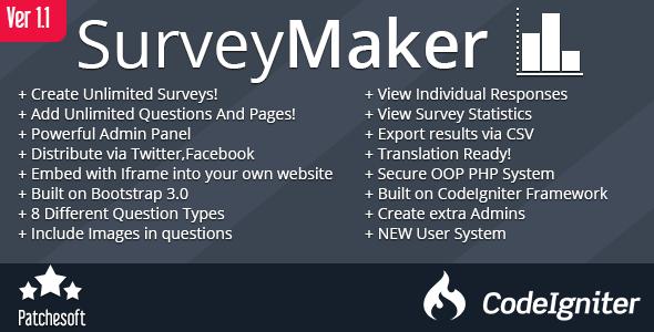 Survey Maker Form Generator