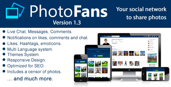 PhotoFans Your Social Network to Share Photos