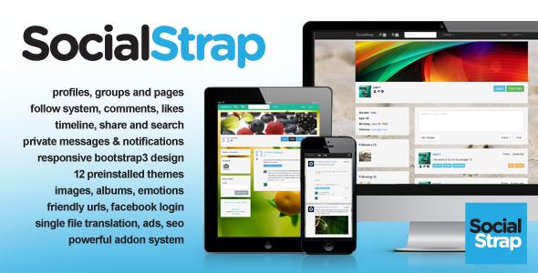 SocialStrap Social Networking Platform