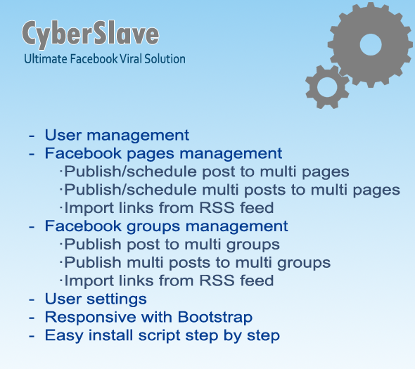 CyberSlave Ultimate Facebook Viral Solution