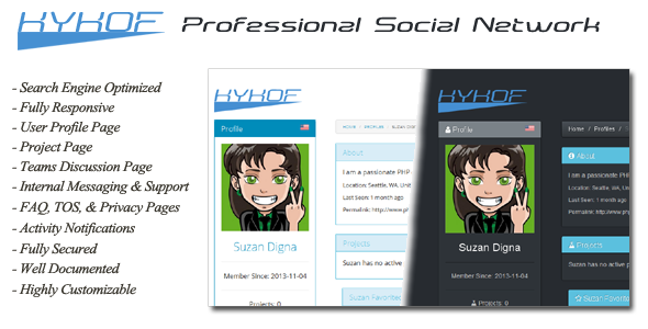 Kykof Professional Social Network