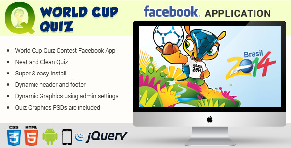 Facebook World Cup Quiz Contest Application