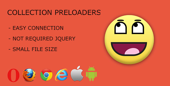 Collection Of Preloaders - Css Animations & Effects Design