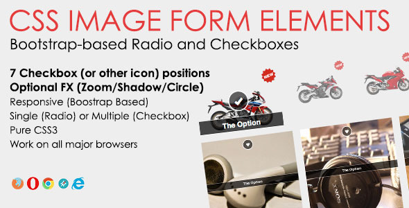 Css Image Form Elements - Css Forms Design