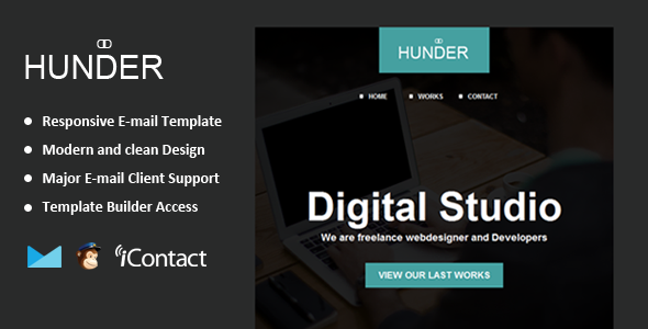 Hunder email template