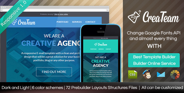 Createam email template