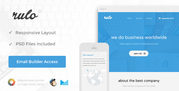 Rulo email template