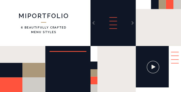 Miportfolio html gallery template