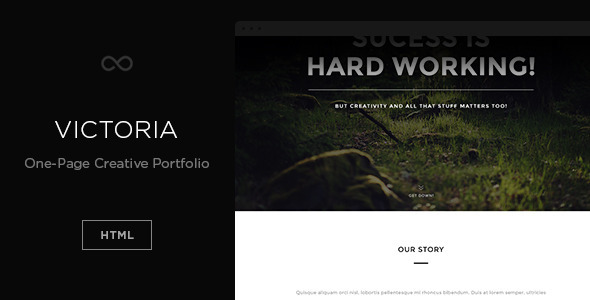 Victoria html gallery template