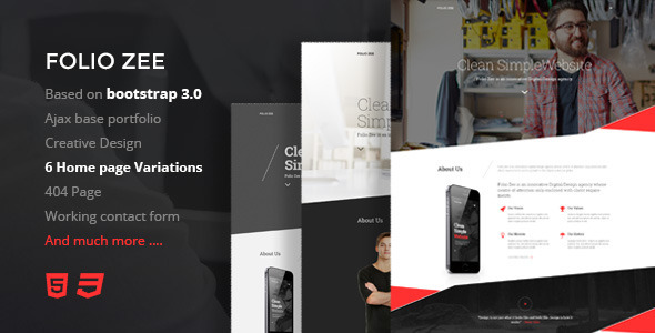 Folio zee html gallery template