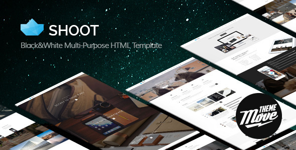 Shoot html gallery template
