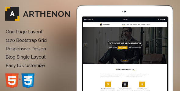 Arthenon html gallery template