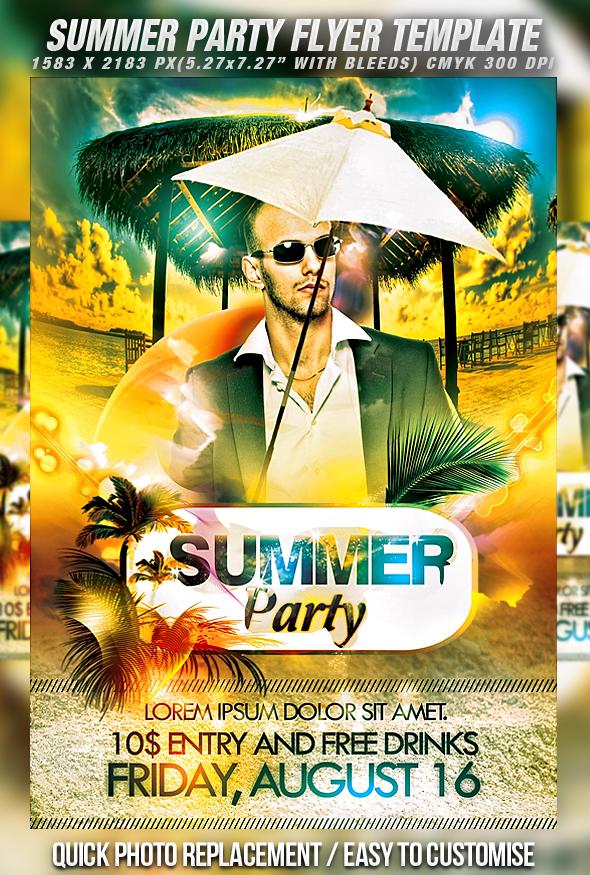 50 best party flyer psd templates