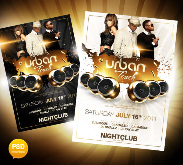 15 Excellent Flyer Templates For Your Next Event: 50 Best Party Flyer PSD Templates