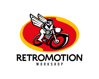 retromotion retro logo