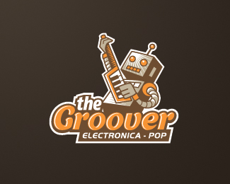 the groover retro logo