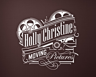 holly retro logo