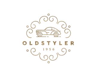 oldstyler retro logo