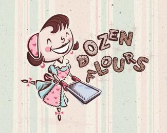 dozen flours chosen design