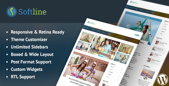 softline responsive wordpress blog theme