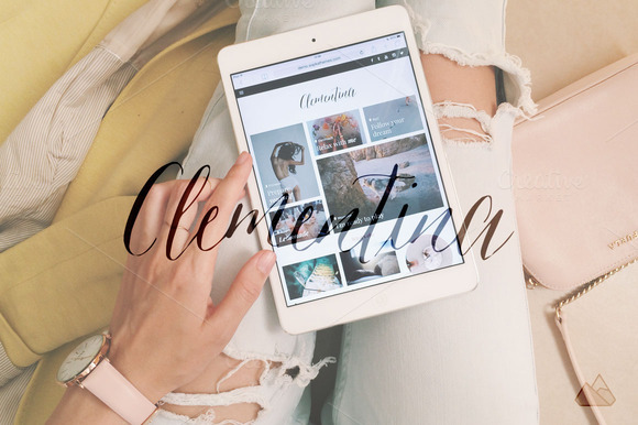 clementina travel fashion theme