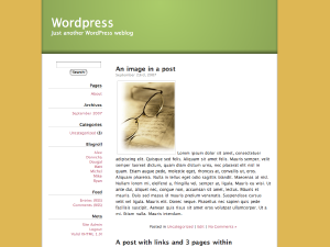 free unspeakabledogness blog wordpress theme