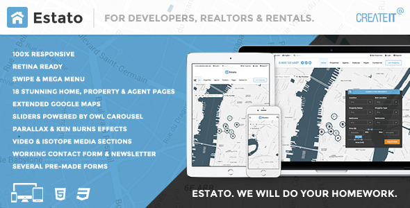 reales real estate web application template nulled