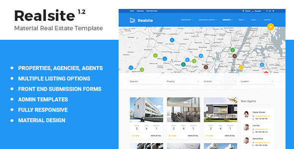 40 free and premium real estate html web templates xdesigns