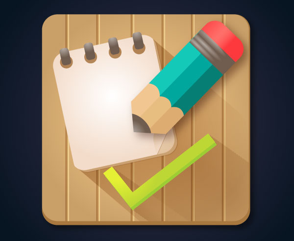 how to create a to-do list app icon in adobe illustrator