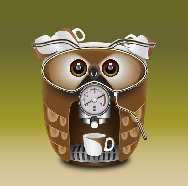 how to create a cute coffee maker