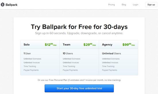 ballpark screenshot