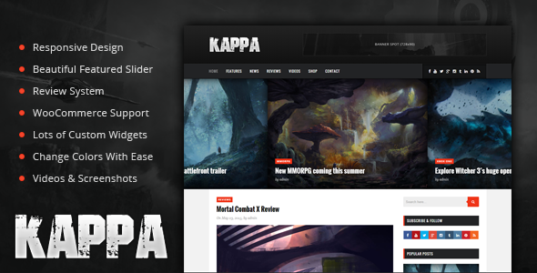 20 best gaming wordpress themes