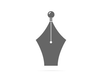 writer idea logo design