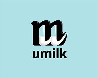 umilk logo design