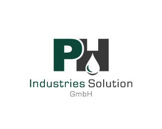 ph industries solution logo design