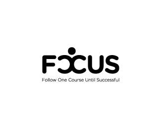 focus logo design