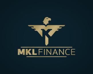 mkl finance logo design
