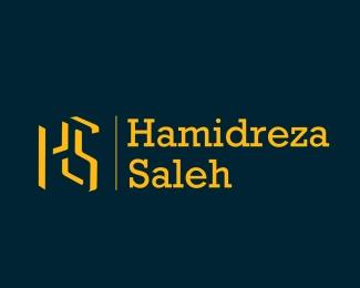 hamidreza saleh logo design