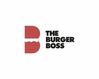 the burger boss logo design