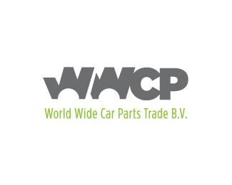 world wide car parts logo design